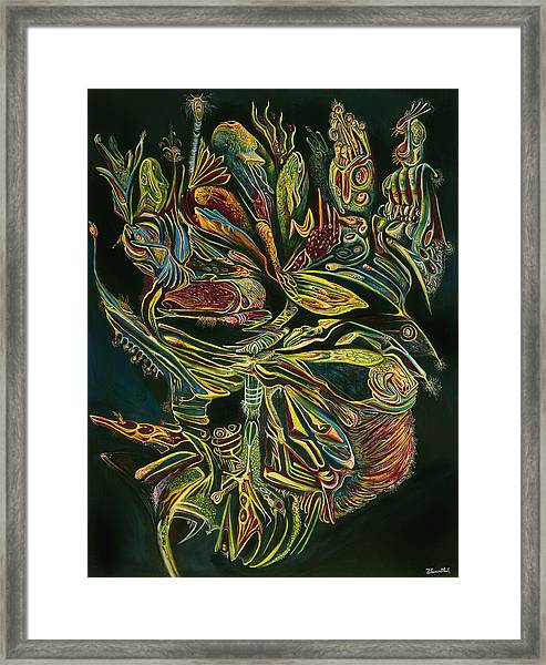 The Heart Of The Universe Framed Print
