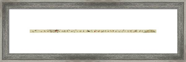 The Hegassen Scroll Framed Print