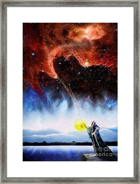 The Hermit's Path Framed Print