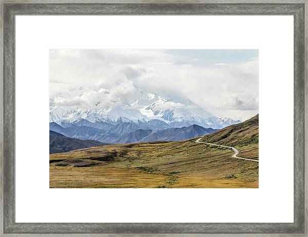 The High One - Denali Framed Print