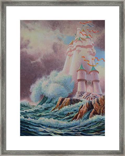 The High Tower Framed Print