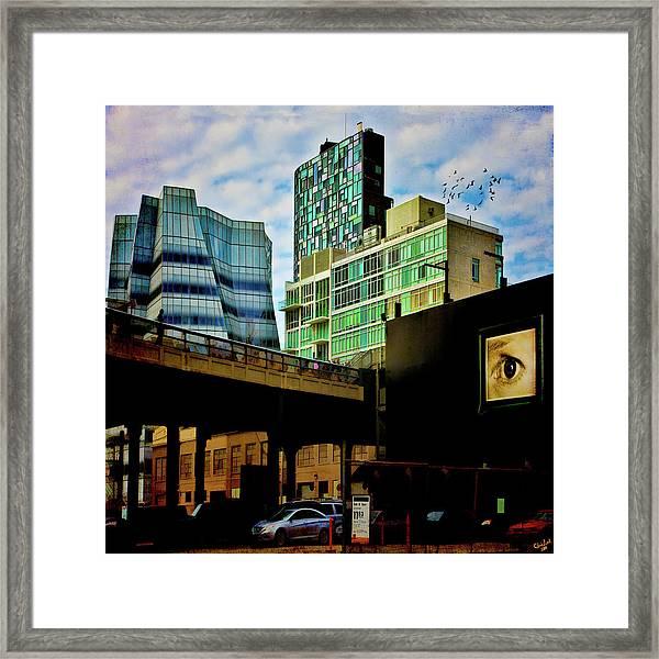 The Highline Nyc Framed Print