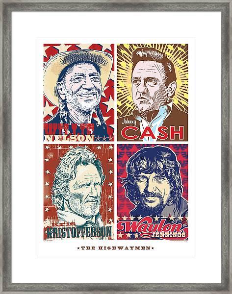 The Highwaymen Framed Print