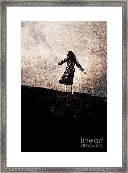 The Hill Framed Print