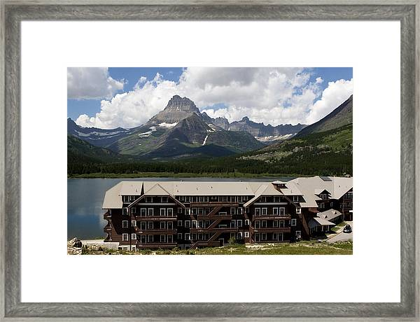 The Hills Are Alive Framed Print
