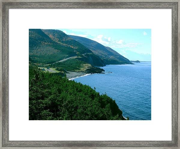 The Hills Of Home Framed Print by George Cousins