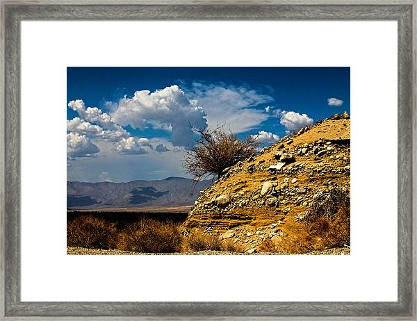Framed Print featuring the photograph The Hilltop by Break The Silhouette