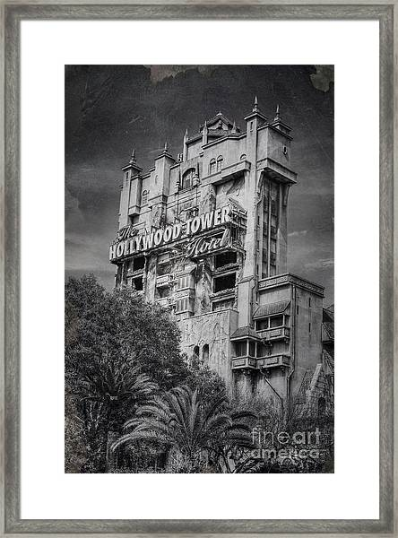 The Hollywood Tower Framed Print