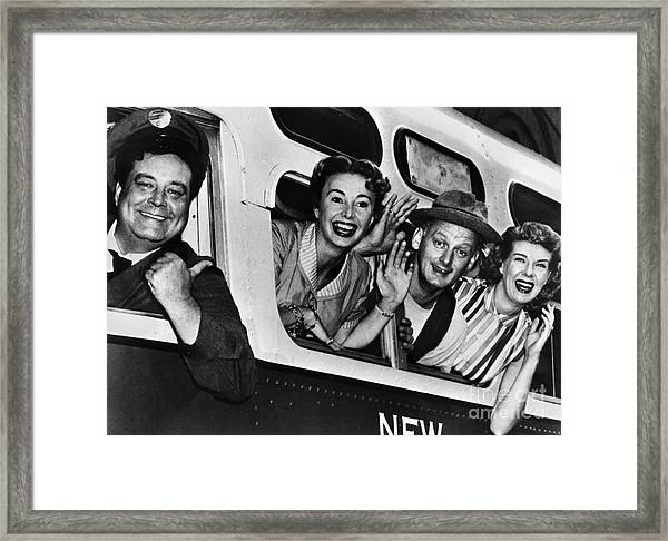 The Honeymooners, C1955 Framed Print