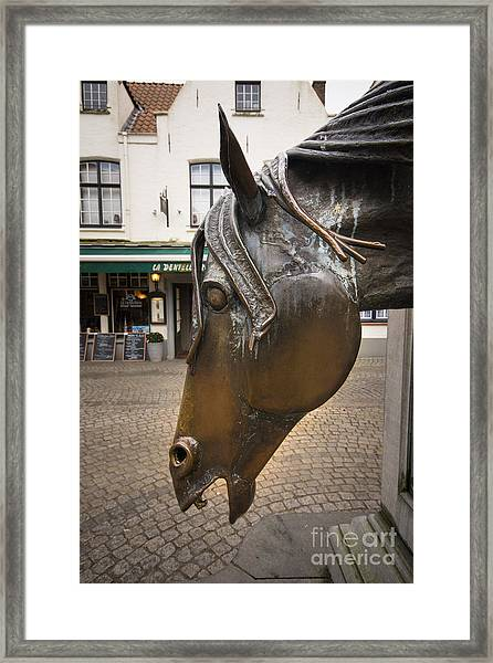 The Horses Head Framed Print