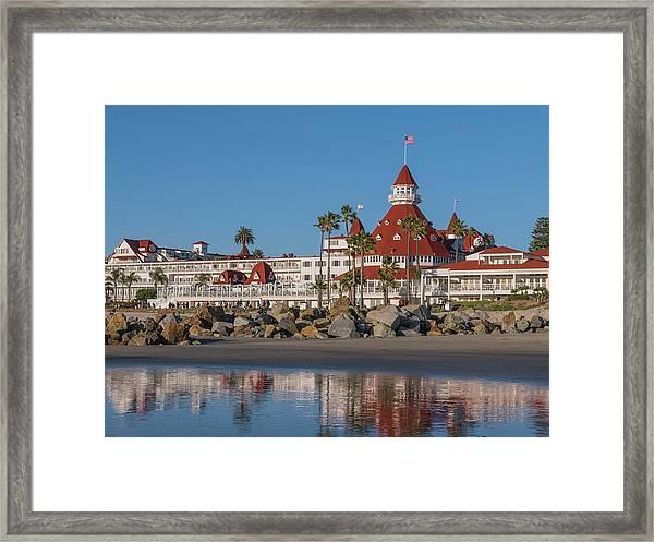 The Hotel Del Coronado Framed Print
