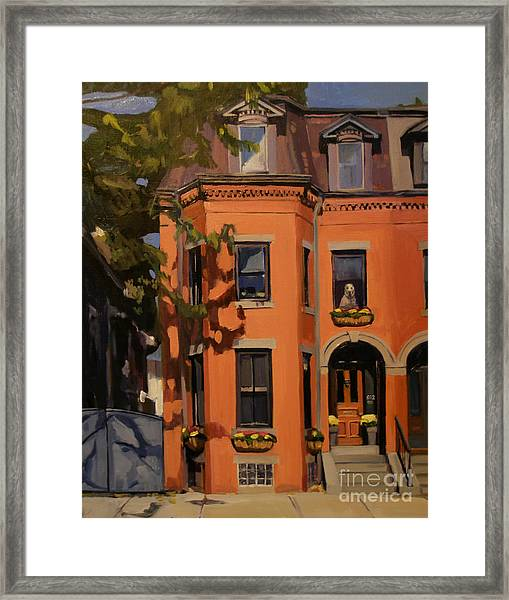 The House Sitter Framed Print