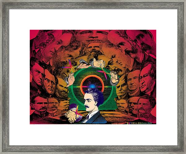 The Human Cave Framed Print