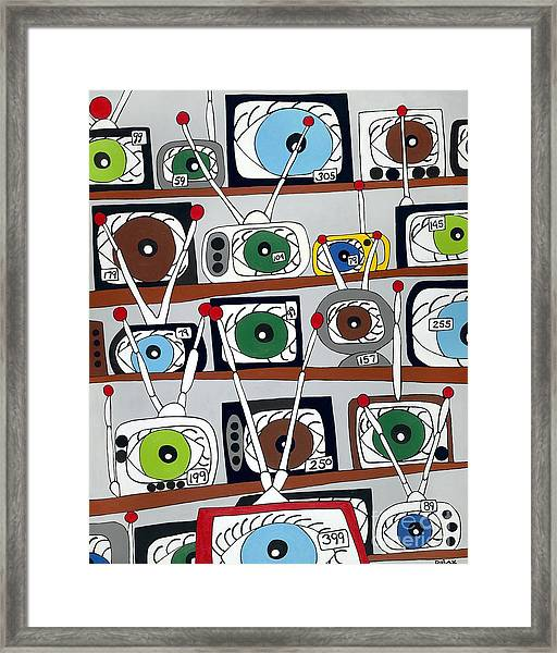 The Hungry Eye Framed Print