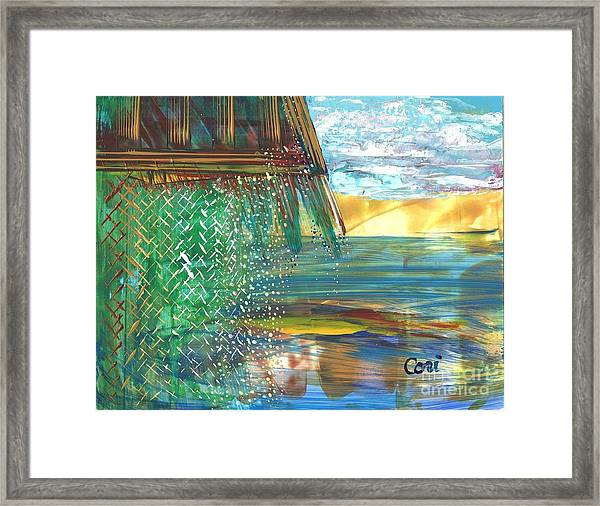 The Hut Framed Print