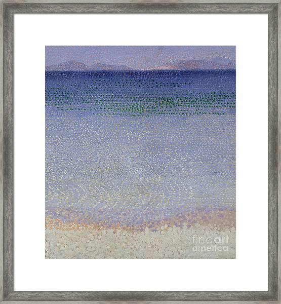The Iles Dor Framed Print