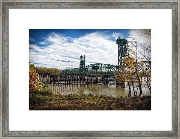The Illinois River Framed Print