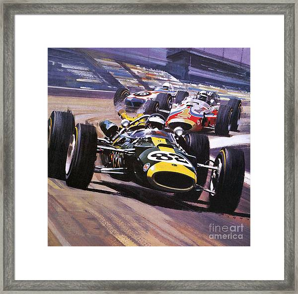 The Indianapolis 500 Framed Print