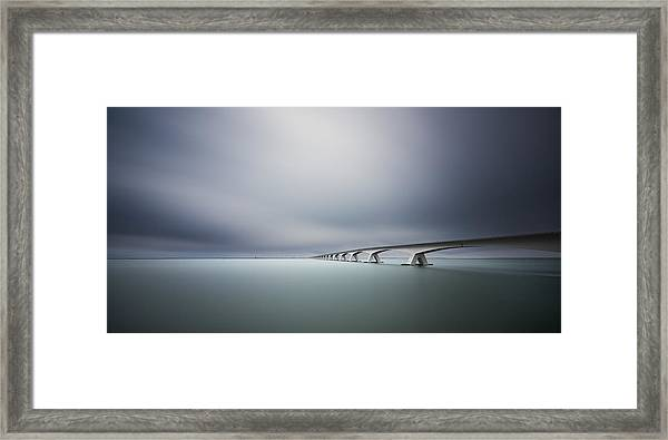 The Infinite Bridge Framed Print by Arthur Van Orden