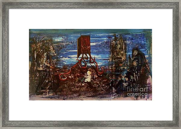 The Inhuman Condition Framed Print