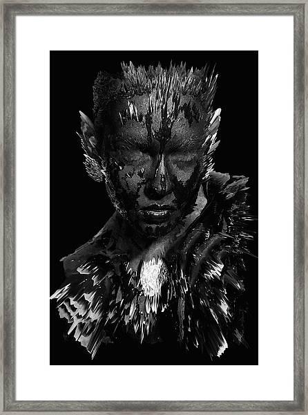 The Inner Demons Coming Out Framed Print