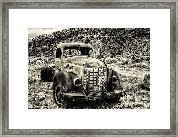 The International Harvester Kb-7  Framed Print