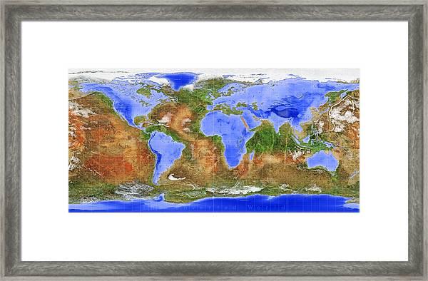 The Inverted World Framed Print