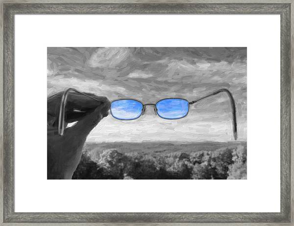 The Invisible Man 2 Framed Print