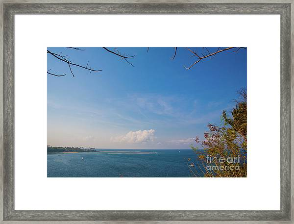 The Island Of God #5 Framed Print