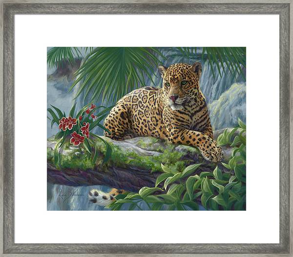 The Jaguar Framed Print