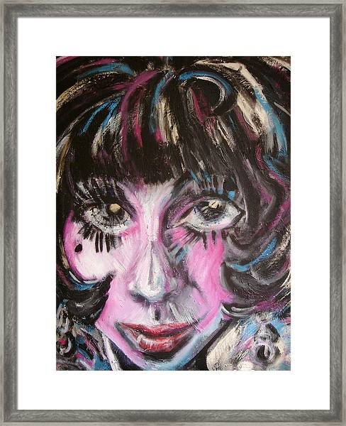 The Jazz Singer Framed Print by Jenni Walford