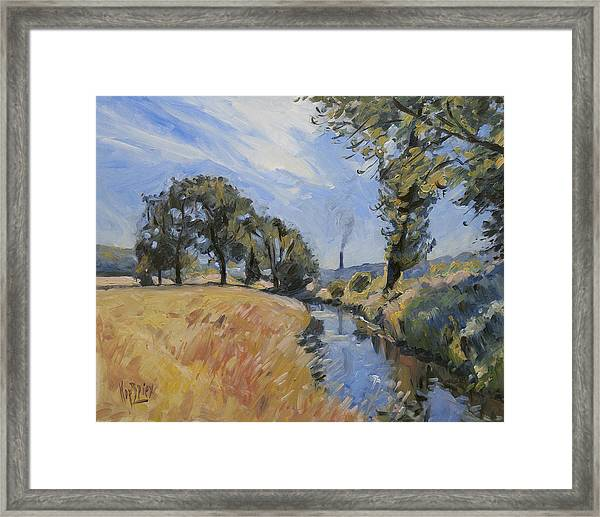 The Jeker And The Enci Framed Print