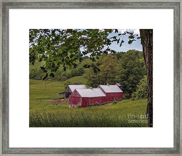 The Jenne Farm II Framed Print