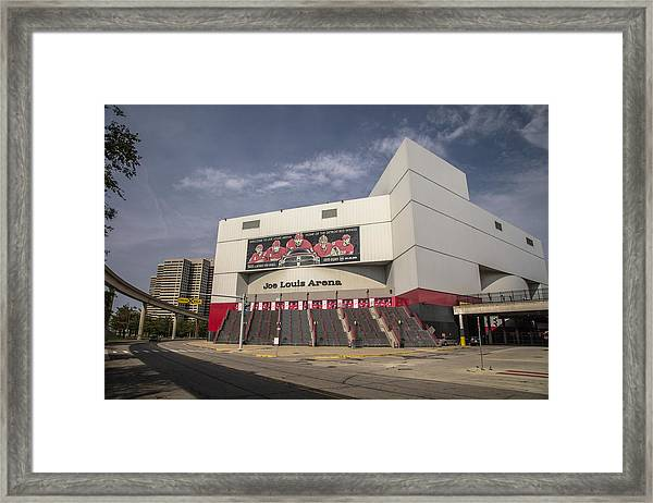 The Joe Wide Shot  Framed Print