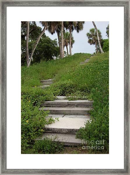 The Journey Secret Steps Framed Print