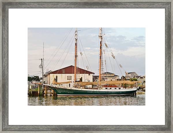 The Kaiui Ana - Ocean City Maryland Framed Print