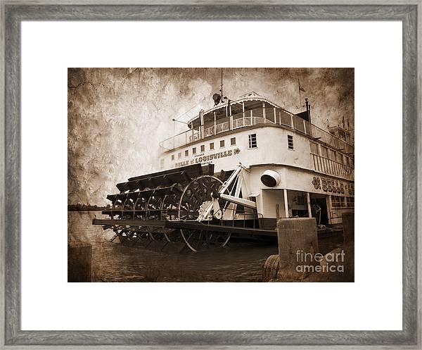 The Kentucky Belle Of Louisville  Framed Print