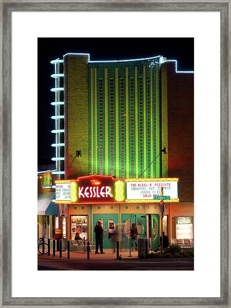 The Kessler V2 091516 Framed Print