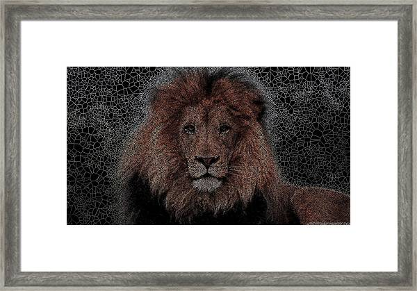 The King Framed Print