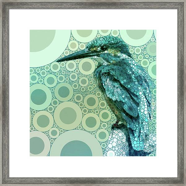 The Kingfisher Framed Print