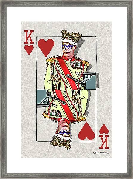 The Kings - Elton John Framed Print