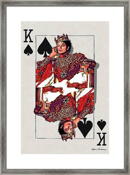 The Kings - Michael Jackson Framed Print