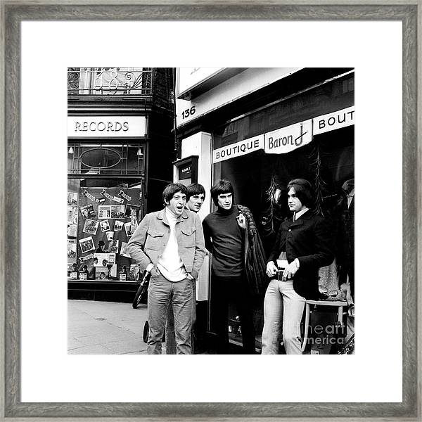 The Kinks 1966 Dedicated Follower Of Fashion Framed Print
