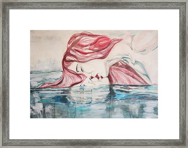 The Kiss Of Life Framed Print