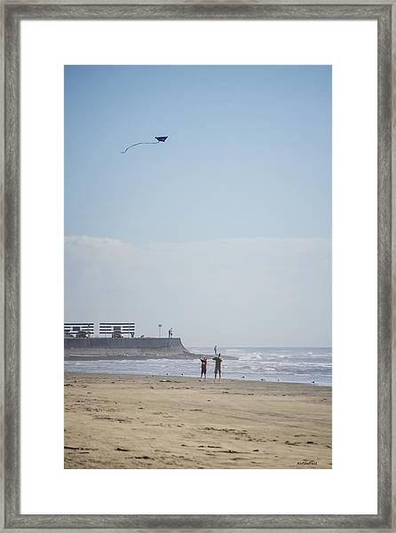 The Kite Fliers Framed Print