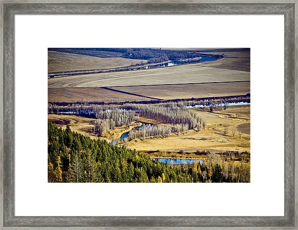 The Kootenai Valley Framed Print