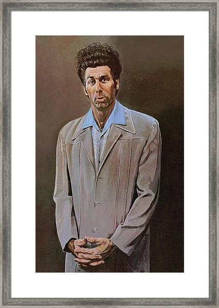 The Kramer Portrait  Framed Print