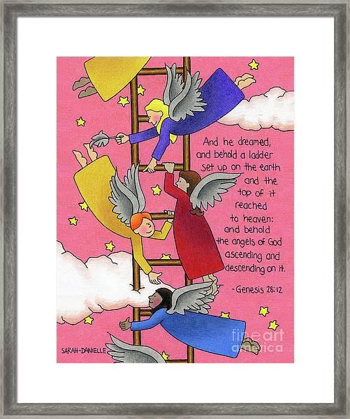 The Ladder Framed Print