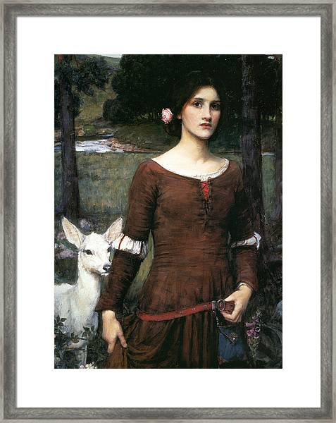 The Lady Clare Framed Print