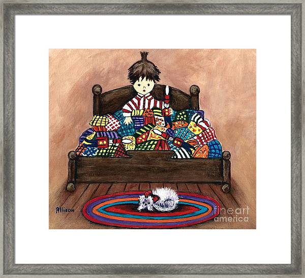 The Land Of Counterpane Framed Print